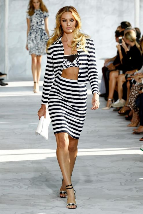 candice swanepoel stuns at michaelkors mbfw beauty in